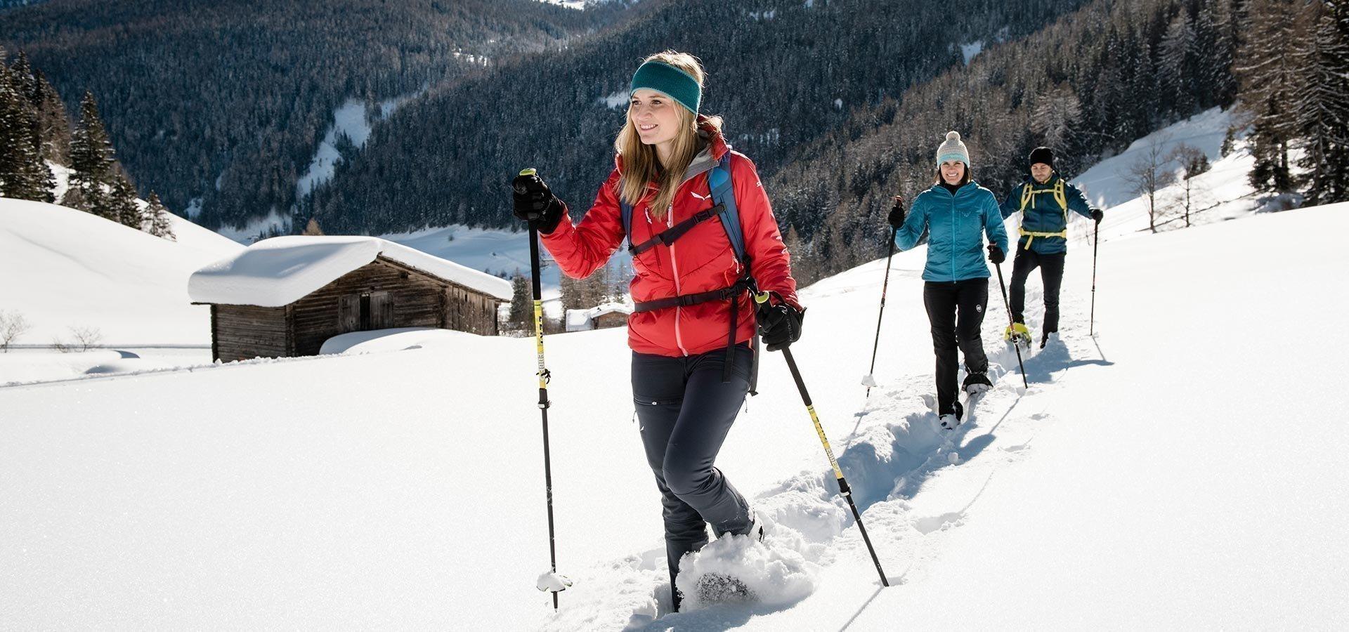 Wintercamping in Südtirol auf der Lärchwiese