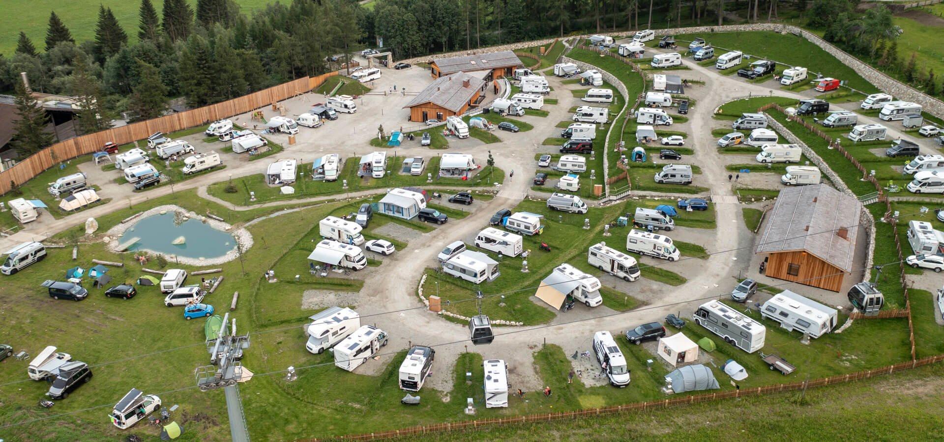 Camping Lärchwiese – Natur Camping in Vals Südtirol