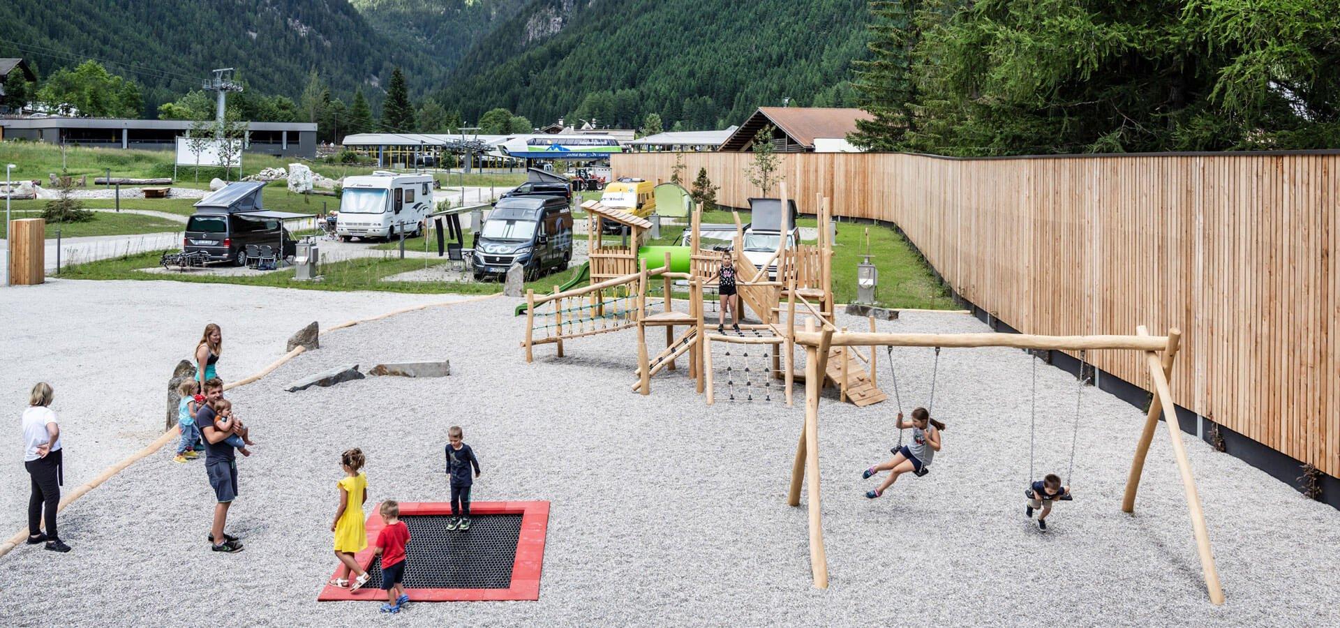 Camping mit Kindern in Südtirol
