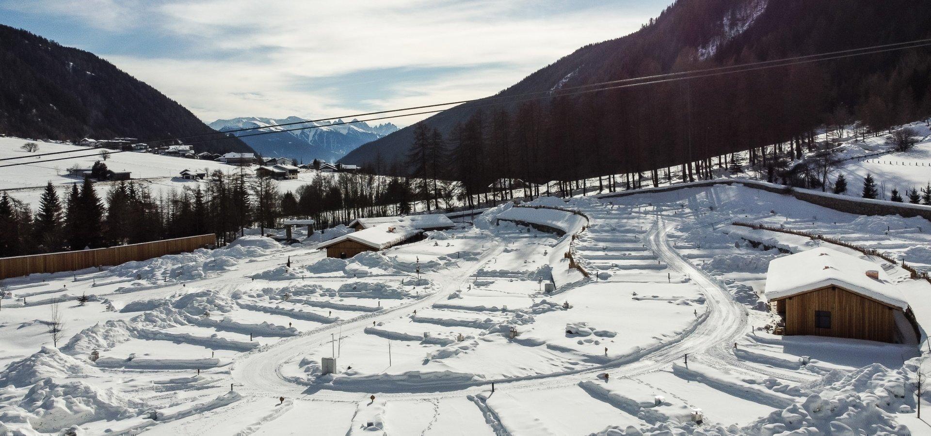 Wintercamping in Südtirol